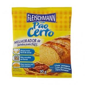 Fermento Pão Certo Fleischmann 10g