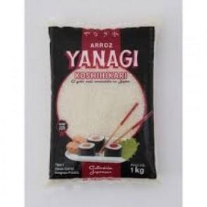 Arroz Japonês koshirikari Yanagi 1kg
