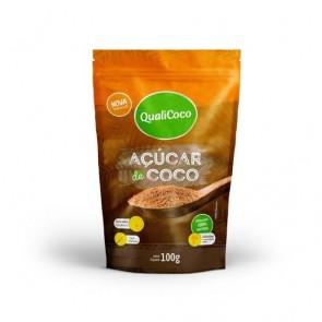 Açúcar de Coco Qualicoco Sachê 100g