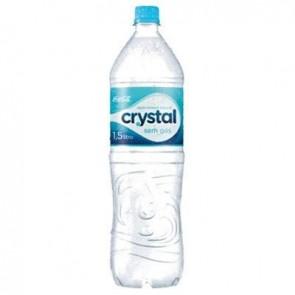 Água Mineral s/gás 1,5L Crystal