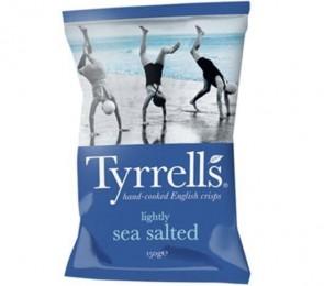 Batata Tyrrells Sal Marinho (Sea Salted) 150g