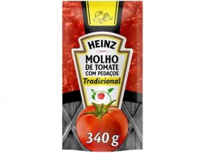 Molho de Tomate Trad Heinz Sache 340 g