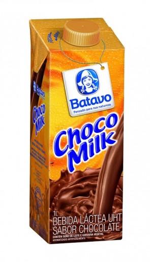 Bebida Láctea Choco Milk Batavo 1L