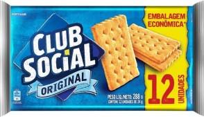 Biscoito Club Social Original 288g (Embalagem Economica)