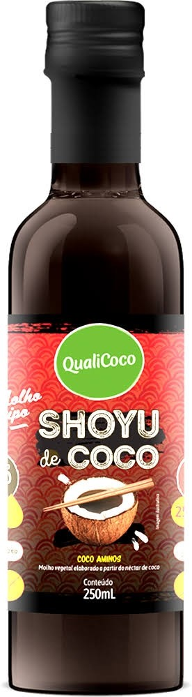 Molho Shoyu Coco Qualicoco 250ml