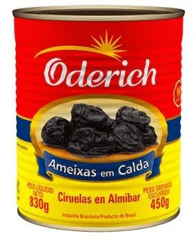 Ameixa Em Calda Oderich 450g