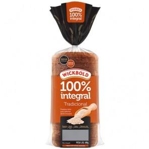 Pão 100% Integral Tradicional Wickbold 400g