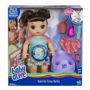 Baby Alive Banho Hasbro