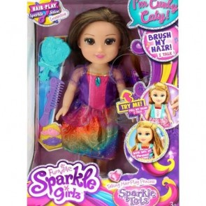 Boneca Sparkle Girlz Princesa