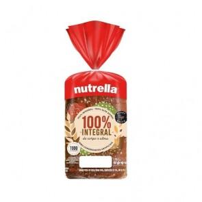 Pão 100% Integral Nutrella 550g