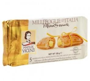Biscoito Vicenzi Mil Folhas C/ Creme 125g