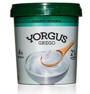 Iogurte Grego Yorgus 4% Gordura Natural 500g