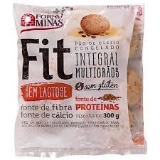 Pão de Queijo Integral Multigrãos Z.Lactose Forno de Minas 300g
