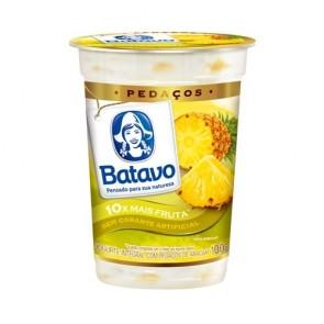 Iogurte Com Pedaços da Fruta Sabor Abacaxi Batavo 100g