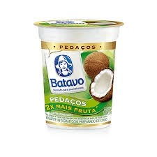 Iogurte Com Pedaços da Fruta Sabor Coco Batavo 100g