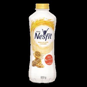 Iogurte Nesfit Maracujá,Aveia e Gengibre Sem Lactose 850g