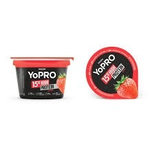Iogurte Danone Yopro 15g High Protein Morango 160g