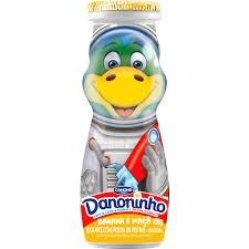 Iogurte Danoninho Banana e Maçã  Danone 100g