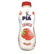Iogurte Cremoso Morango Piá 800g