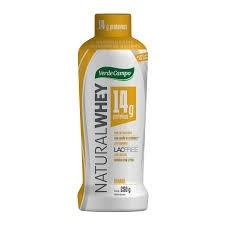 Iogurte Whey Natural Banana Verde Campo 250g