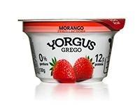 Iogurte Yorgus Grego Morango Zero Lactose 130g