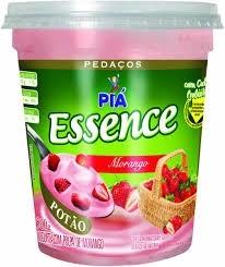Iogurte Essence Morango Piá 500g