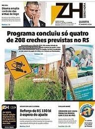 Jornal impresso ZH