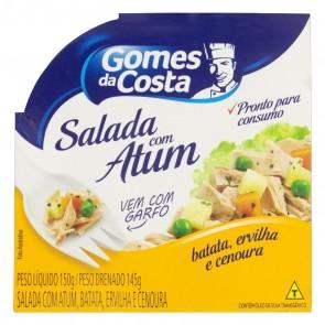 Salada Atum com Batata/Cenoura/Ervilha Gomes da Costa 145g