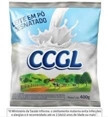 Leite em Pó Desnatado CCGL 400g