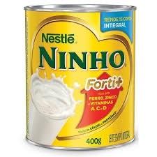 Leite Pó integral Ninho 400g
