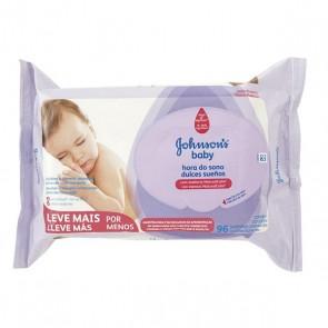 Lenço Umedecido Jonhson Baby Hora do Sono c/96