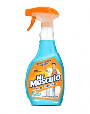 Limpador Mr. Músculo Limpa Vidro AP 500ml
