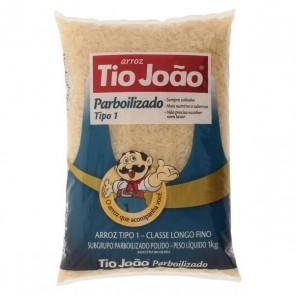 Arroz Tio Joao Parboilizado tipo 1 1 kg