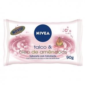 Sabonete Hidratante Nivea Talco 90 g