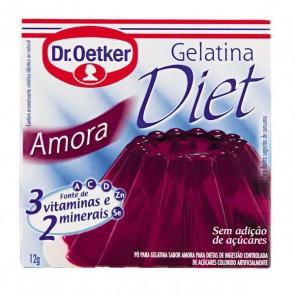 Gelatina Oetker Diet Amora 12 g