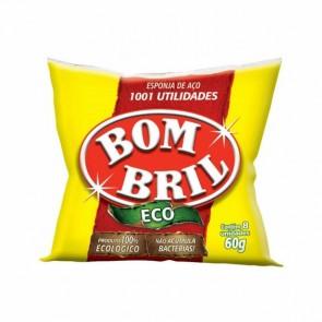Esponja Aço Bom Bril Eco c/8 60g