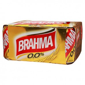 Cerveja Brahma Zero Álcool pack 12 x 350 ml