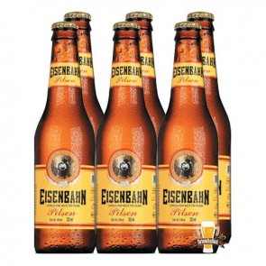 Cerveja Eisenbahn pack de 6 com 355ml