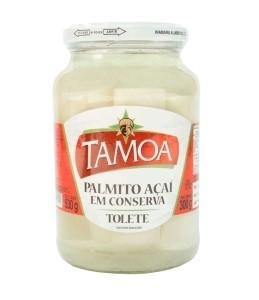Palmito Açaí Tolete Tamoa 300g
