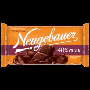 Chocolate Meio Amargo em Barra 40% Cacau Neugebauer 120g