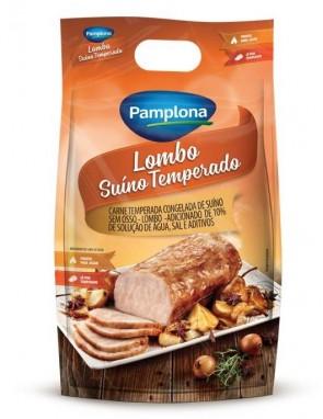 Lombo Suíno Temperado Pamplona (aproximadamente 1kg)