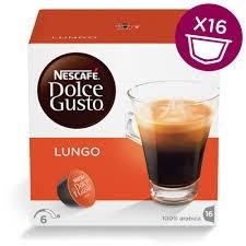 Café Lungo Dolce Gusto Nestle c/16 Cápsulas