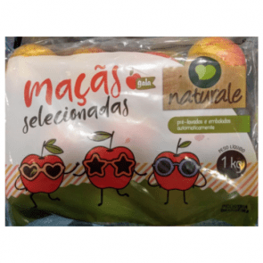 Maçã Gala Naturale Pacote 1kg