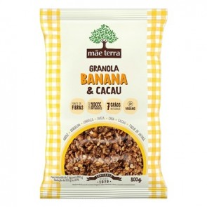 Granola Mae Terra Banana e Cacau 800g