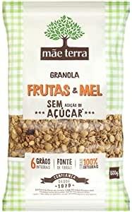 Granola Mae Terra Frutas e Mel Sem Açúcar 800g