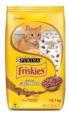 Alimento p/ Gatos Castrados Friskies Megamix 1kg