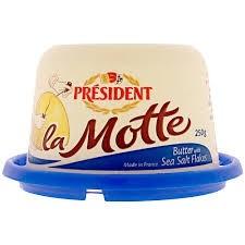 Manteiga La Motte com Sal President 250g
