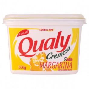 Margarina Cremosa Qualy com sal 500g