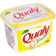 Margarina Cremosa Qualy sem sal 500g