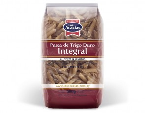 Massa Integral Trompetin (Penne) Las Acacias 500g